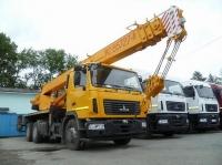 Автокран МАШЕКА КС-55727А-12